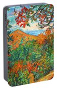 Autumn Beauty From Sharp Top Portable Battery Charger