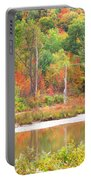 Autumn Beaver Pond Portable Battery Charger