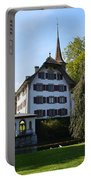 Castle In September Portable Battery Charger