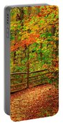 Autumn Bend - Allaire State Park Portable Battery Charger