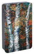 Autumn Birch Portable Battery Charger