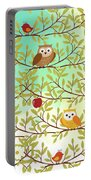 Autumn Birds Portable Battery Charger