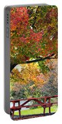 Autumn By The River On 105 Portable Battery Charger