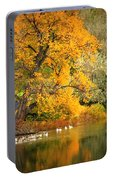 Autumn Calm Portable Battery Charger