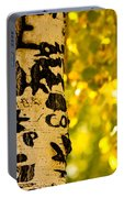 Autumn Carvings Portable Battery Charger