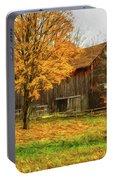 Autumn Catskill Barn Portable Battery Charger
