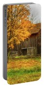 Autumn Catskill Barn Portable Battery Charger
