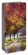 Autumn Charm Portable Battery Charger