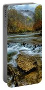 Autumn Cherry Falls Elk River Portable Battery Charger