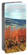 Autumn Cherry Orchard Portable Battery Charger