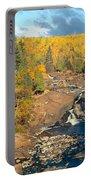 Autumn Color Along Beaver River Portable Battery Charger