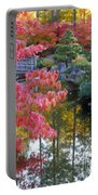 Autumn Color Reflection - Digital Painting Portable Battery Charger