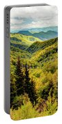Autumn Colors In The Smokies Portable Battery Charger