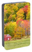 Autumn Colors Near Lake Ainslie  Portable Battery Charger