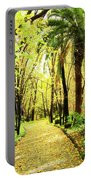 Autumn Corridor Portable Battery Charger