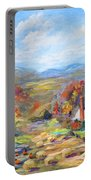 Autumn Cottage Portable Battery Charger