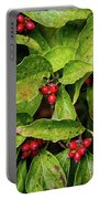 Autumn Dogwood Berries Portable Battery Charger