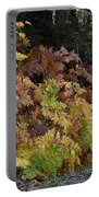 Autumn Ferns Portable Battery Charger