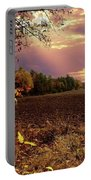 Autumn Fields Portable Battery Charger