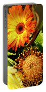 Autumn Flower Arrangement Portable Battery Charger