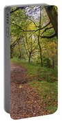 Autumn Forest Path - Portable Battery Charger