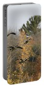 Autumn Geese Portable Battery Charger