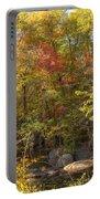 Autumn Glory - Unami Creek Sumneytown Pennsylvania Usa Portable Battery Charger