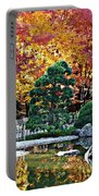 Autumn Glow In Manito Park Portable Battery Charger