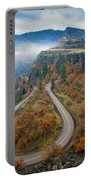 Autumn Hairpin Turn Portable Battery Charger