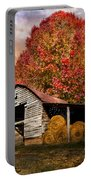 Autumn Hay Barn Portable Battery Charger