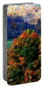 Autumn Hedgerow Portable Battery Charger