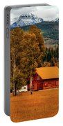 Autumn Hideaway Portable Battery Charger
