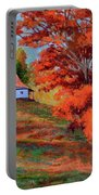 Autumn Hillside Portable Battery Charger
