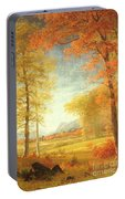 Autumn In America Portable Battery Charger