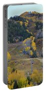 Autumn In Aspen Portable Battery Charger