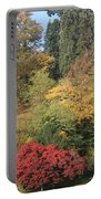 Autumn In Baden Baden Portable Battery Charger by Travel Pics