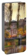 Autumn In Boston Garden Portable Battery Charger