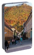 Autumn In Brasov Portable Battery Charger