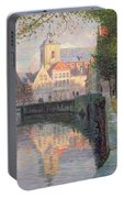 Autumn In Bruges Portable Battery Charger