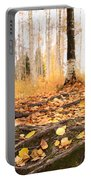 Autumn In Finland Portable Battery Charger