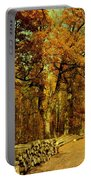 Autumn In Forest Portable Battery Charger