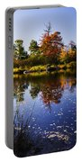 Autumn In Maine Usa Portable Battery Charger