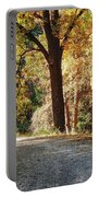 Autumn In Michigan Portable Battery Charger