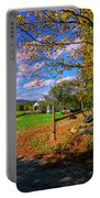 Autumn In Montpelier Portable Battery Charger