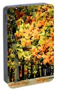 Autumn In Olde Virginia Portable Battery Charger