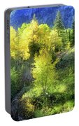 Autumn In Ophir - Colorado - Aspens Portable Battery Charger