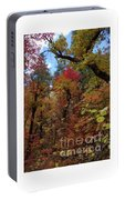 Autumn In Sedona Portable Battery Charger
