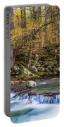 Autumn In Smoky Mountains National Park  Portable Battery Charger