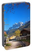 Autumn In South Tyrol Portable Battery Charger