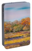 Autumn In The Adirondack Mountains Portable Battery Charger